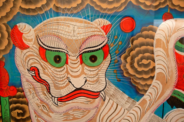 Five-tigers-Hang-Trong-painting-Hanoi
